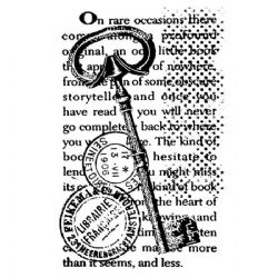 Stamperia - Natural Rubber Stamp - Key